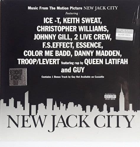 Various<br>New Jack City (Music From The Motion Picture)<br>LP, Comp, Ltd, RE, Silver